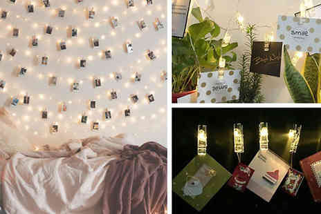 Ugoagogo - 36 Led Photo Clip Fairy Lights - Save 67%