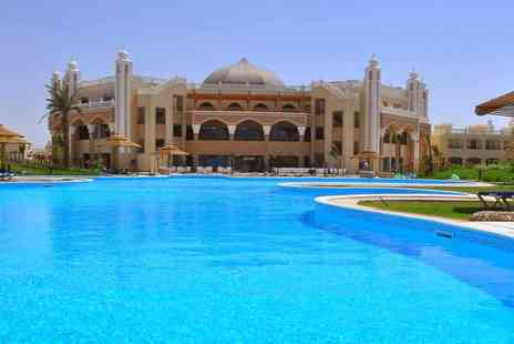 Super Escapes Travel - Seven night 5 Star all inclusive Hurghada, Egypt beach break and return flights - Save 31%