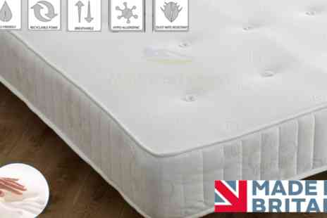 Dreamtouch Mattresses - Cool touch relaxation memory sprung mattress - Save 88%
