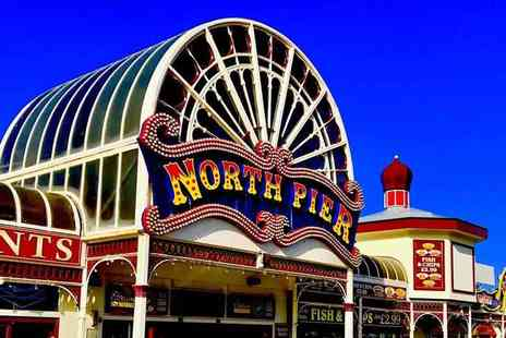 The Carousel Pier - Two tickets to the Cinderella pantomime at Blackpool North Pier Theatre choose from multiple summer dates - Save 45%