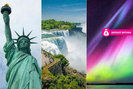Crystal Travel - Six or nine night Iceland, Niagara Falls and New York break with flights and train - Save 20%