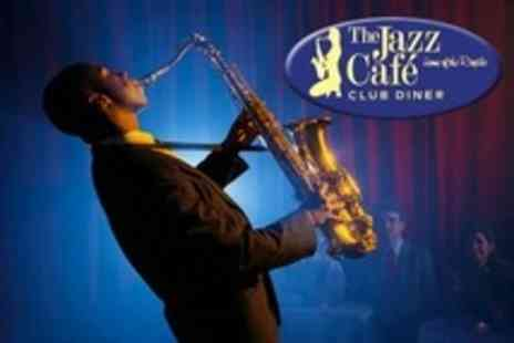 The Jazz Cafe - Two Course Meal, Live Music and DJ - Save 54%