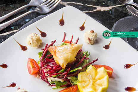 Cheikhos Restaurant - Two course Italian dining for two people including a starter and main each - Save 51%