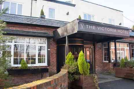 The Victoria Hotel - One or two night Manchester stay with welcome drink and breakfast - Save 42%