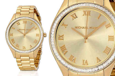 Class Watches - Michael Kors Blake Champagne watch - Save 49%