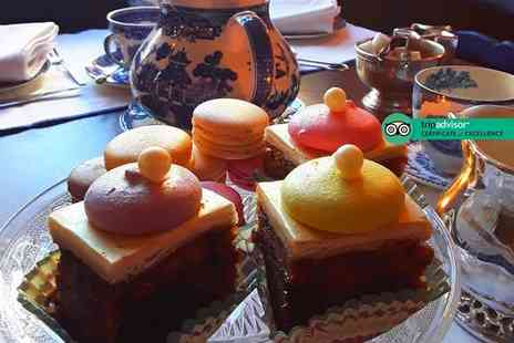 La Parisienne - French afternoon tea for two people or include a glass of Prosecco each - Save 32%