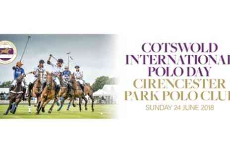 Cirencester Park Polo Club - Ticket to Cotswold Polo Day or County Cup on 24 June or County Cup on 18 August - Save 40%