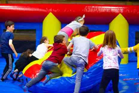 Inflatable Planet - One Hour Inflatable Games Party for Up to 10 Children - Save 47%