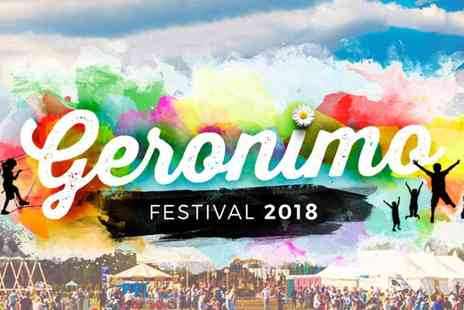 Geronimo Festival - Flash Sale Geronimo Festival Ticket - Save 10%