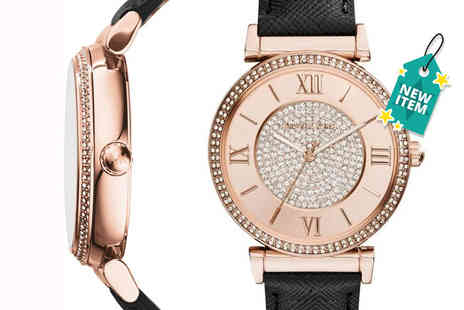 Mimo Deals - Michael Kors MK2376 Catlin Rose watch - Save 59%