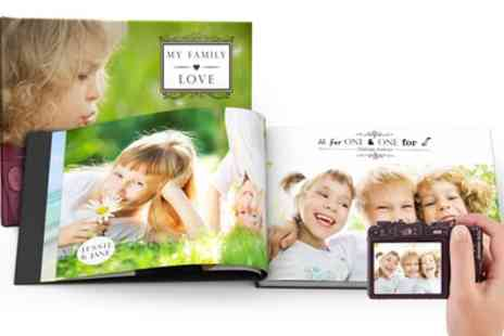 Printerpix - Up to Three 100 Page A4 Hardcover Photobook - Save 83%