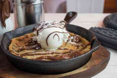 The Butter Knife - Choice of Crepe, Waffle or Cookie with Optional Milkshake for Up to Four - Save 37%
