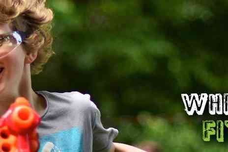 WhizzFit - Whizzfit Nerf, Laser Tag & Dodgeball Family Fun in Tolworth - Save 33%
