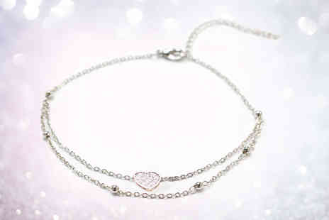 GameChanger Associates - Sterling silver anklet - Save 85%