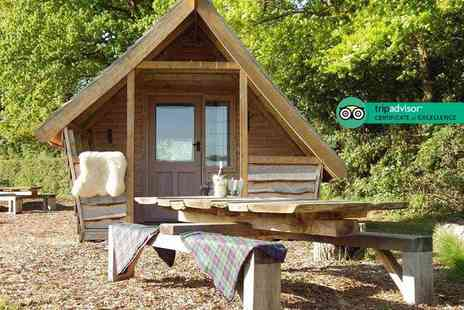 Long Acres Camping and Glamping - Two night Surrey glamping pod stay for up to four - Save 54%