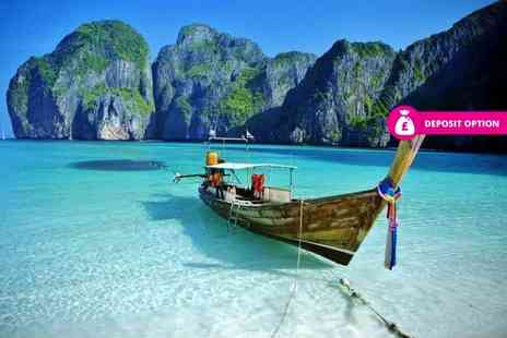 Crystal Travel - Ten night holiday with three nights in Bangkok and seven nights in Pattaya including flights and transfer - Save 21%