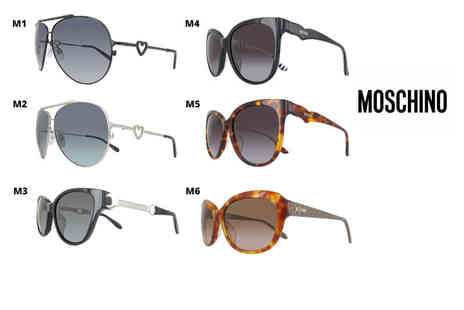 Class Watches - Pair of Moschino sunglasses - Save 70%