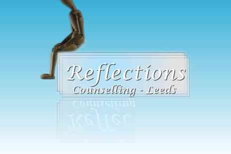 Reflections Counselling - Reflections counselling session via Skype, phone or face to face - Save 50%