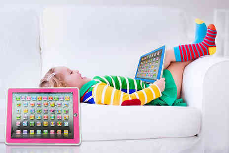 London Exchain Store - Multi function kids learning y pad choose from two colours - Save 80%