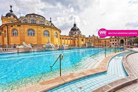 Crystal Travel - Two, Three or Four night 4 Star Budapest city break with return flights - Save 48%