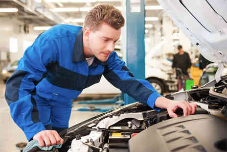 S Donnan and Son - 50 point car service with oil and filter change - Save 71%