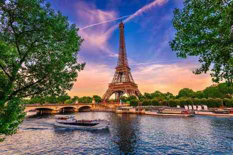 Short Break - One, two or Three night Paris stay with breakfast, river cruise and Eurostar ticket - Save 29%