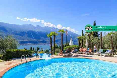 Crystal Travel - Four Star Three nights all inclusive Lake Garda stay and return flights - Save 46%