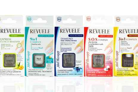 Groupon Goods Global GmbH - Revuele Nail Therapy Nail Polish Range - Save 0%