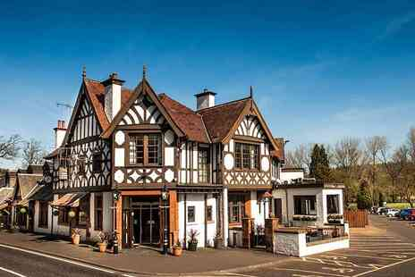 The Popinjay Country Hotel - One or two night stay for two with Prosecco on arrival, £20 dining credit per person, spa access, breakfast and late checkout - Save 33%