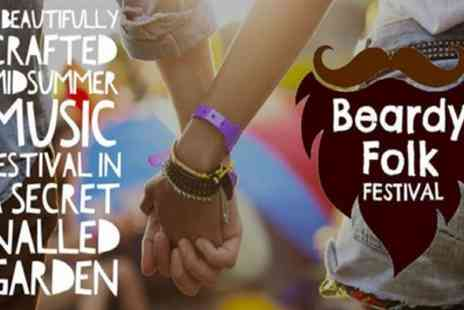 Beardy Folk Festival - Ticket to Beardy Folk Festival 2018 on 22 to 24 June - Save 23%