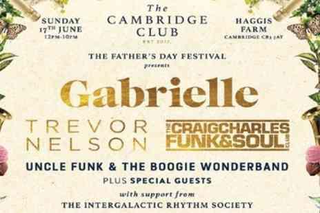 The Cambridge Club - Fathers Day Festival Ticket at The Cambridge Club on 17 June - Save 25%