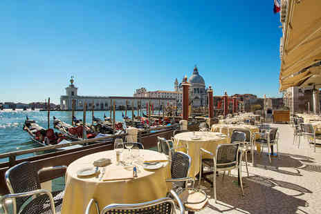 Hotel Monaco & Grand Canal - Four Star Lagoon Views Stay For Two from a 17th Century Mansion - Save 78%