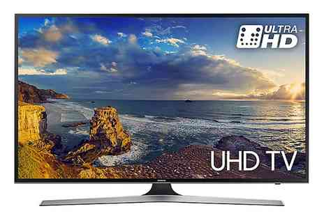 Groupon Goods Global GmbH - Samsung UE55MU6100 55 inch 4K UHD HDR LED Smart TV With Free Delivery - Save 0%
