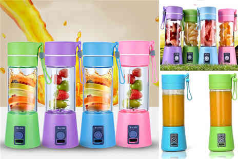 TY Direct - Portable mini handheld juicer and blender - Save 67%