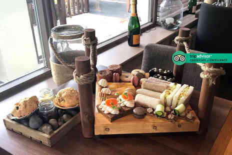 The Farndon Boathouse - Afternoon tea for two or include a glass of Prosecco each or G&T each - Save 40%