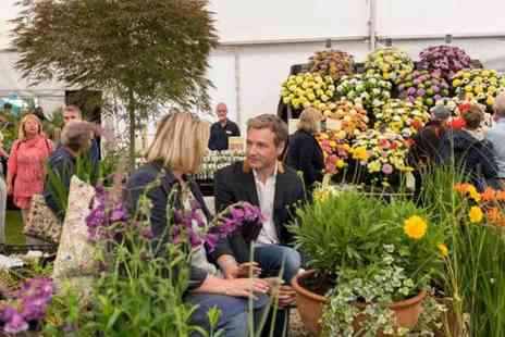 Chorley Flower Show - Adult or family day ticket or adult weekend pass to the Chorley Flower Show 2018 - Save 50%