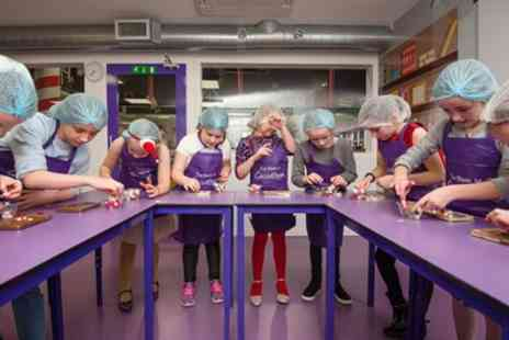 The Cocoabean Company - Childrens Chocolate Workshop with Lunch Box, Slush and Ice Cream for One or Two - Save 32%
