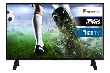 Groupon Goods Global GmbH - Finlux 43 inch 4K HDR LED Smart TV With Free Delivery - Save 0%