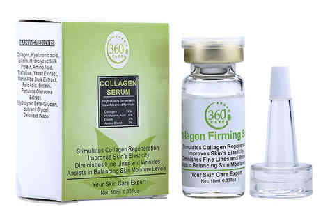 Seated Toad - Collagen Serum 1, 2 or 3 Pack - Save 83%