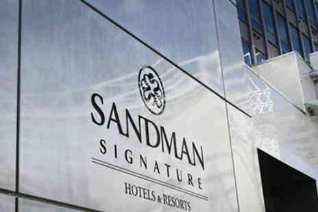 Sandman Signature Newcastle Hotel - Newcastle city centre stay with prosecco - Save 0%