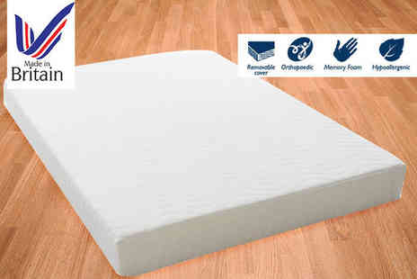 Trusleep - Ortho T1700 memory foam mattress choose from six sizes - Save 83%