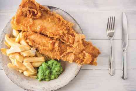 The Town House Bar & Kitchen - Fish and Chips for Two or Four - Save 50%