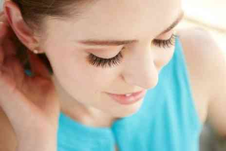 The Make Up Room - Classic or Russian Volume Eyelash Extensions - Save 30%