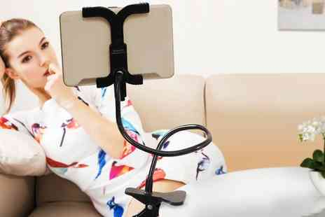 Groupon Goods Global GmbH - 360 Degree Clamp Tablet Holder with Optional Accessories - Save 0%