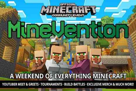 MineVention - Two tickets to MineVention on the 4th or 5th August at The Cresset, Peterborough or two tickets on the 8th or 9th September at Eikon Exhibition Centre, Lisburn - Save 50%