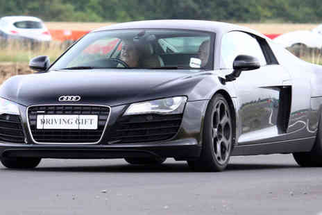 Driving Gift - Supercar driving experience in one, two, three or four cars - Save 61%