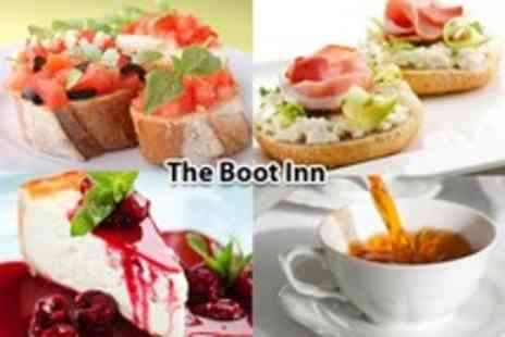 The Boot Inn - Lunch for 2 inc. sandwiches, fresh cakes & liquor coffees - Save 66%