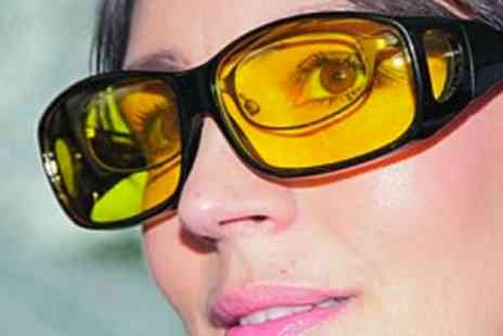 Groupon Goods Global GmbH - One or Two Pairs of Night Vision Glasses - Save 63%