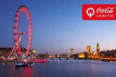 The London Eye - The London Eye and River Cruise Tickets for Up to Four - Save 0%