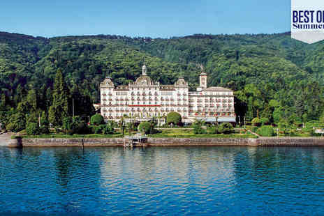 Grand Hotel Des Iles Borromees - Five Star Luxury Lakeside Spa Hotel Stay For Two - Save 68%